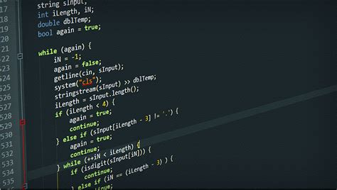 getline(cin, sInput) ; computer coding HD Wallpaper ... C- Programming Wallpaper