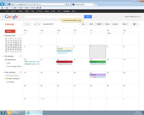 google images december tolga media a2 blog google calendar for the month of december