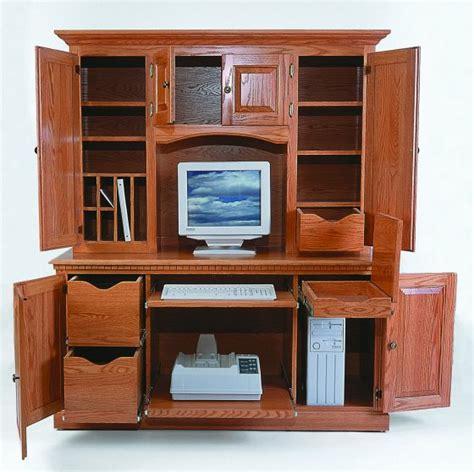 Desktop Hutches amish computer hutch top amish office furniture sugar