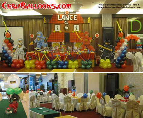 Ninjago cebu balloons and party supplies