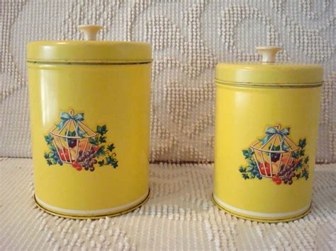 129 Best Yellow Canisters Images On Pinterest Vintage Kitchen   126 best images about yellow canisters on pinterest