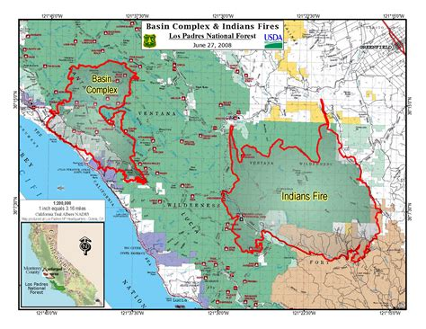 map of california fires update on central california fires