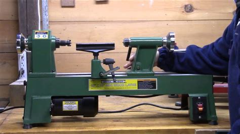harbor freight mini lathe review youtube