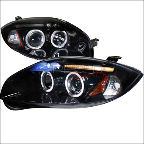 Mitsubishi Eclipse Lights by Spec D Tuning 174 Mitsubishi Eclipse 2006 2011 Halo Smoked