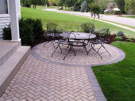 pictures of patios with pavers complete hardscapes kansas city paver patios