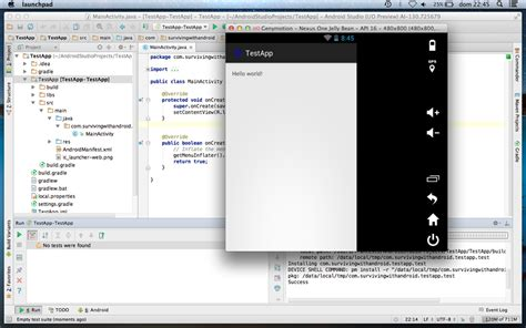 android studio with android alternative emulator genymotion