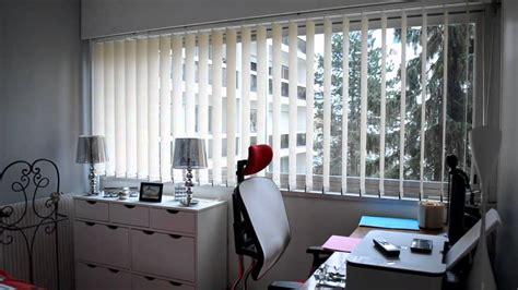 store chambre cidev stores 224 bandes verticales pour chambre