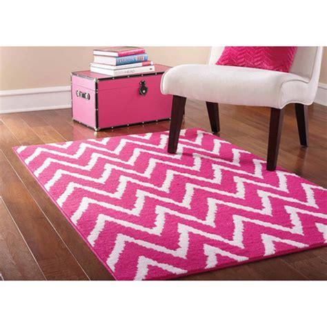 pink rug walmart mainstays distressed zig zag area rug pink white walmart