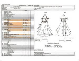Dress Spec Sheet by Productdevelopment Sararhiana
