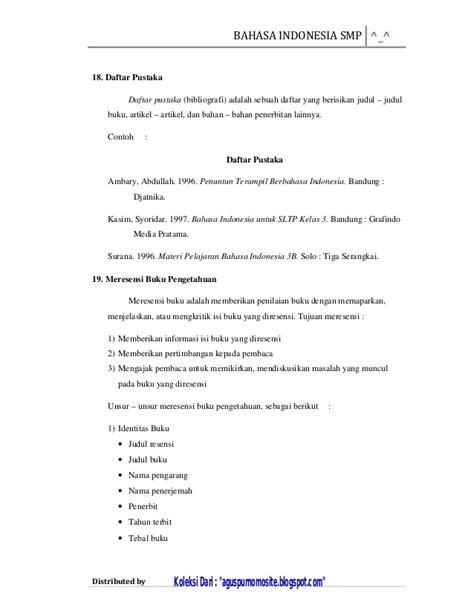 materi tentang biography bahasa inggris rangkuman materi bahasa indonesia sd kelas 6 semester 1