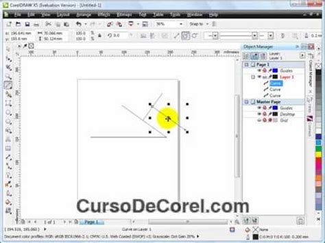 corel draw x5 y sus partes funciones de la linea de 2 puntos corel draw x5 curso