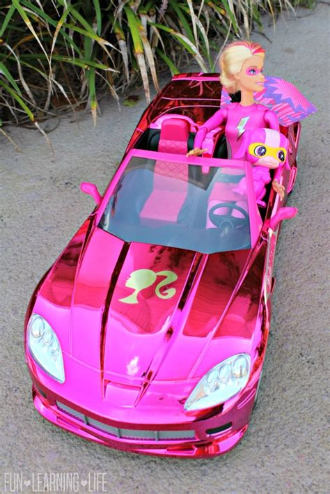 barbie corvette remote control barbie cruisin corvette r c review with video fun