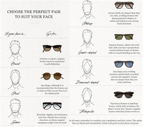 7 Tips For Choosing Sunglasses by 7 Essential Style For Infographics Stylefrizz