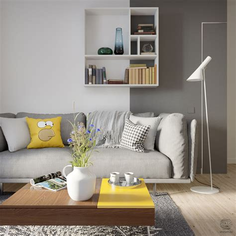 grey and yellow living room ideas 40 grey living rooms that help your lounge look