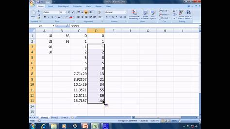 tutorial excel functions excel 2007 tutorial 3 calculations functions and