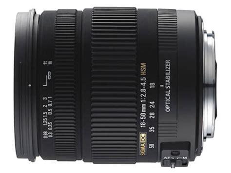 Sigma 18 50mm F 2 8 4 5 Dc Os Hsm sigma 18 50 mm f 2 8 4 5 dc os hsm