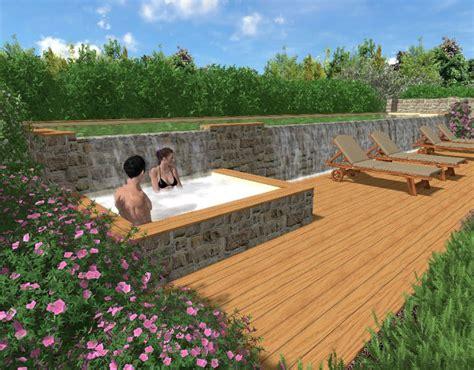 progetti giardini di giardino con piscina in maremma with progetti