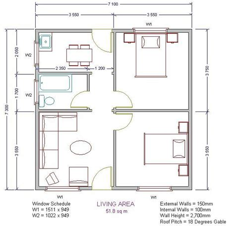 low cost housing plan low cost house plans