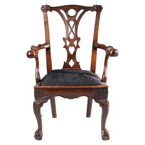 18th century chairs styles 18th century mahogany butlers chair for sale at 1stdibs