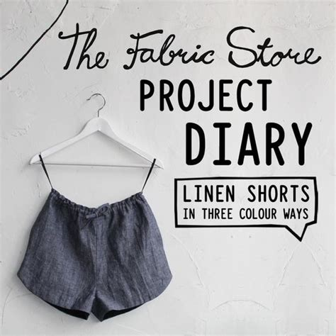 pattern making jobs melbourne blog thefabricstore co nz project diary linen shorts