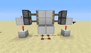 sided piston door redstone discussion and