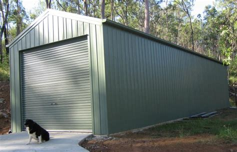 Wide Span Sheds by Single Garage Wide Span Sheds