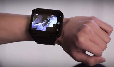 designboom video neptune pine smartwatch at ces 2014