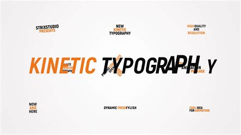 Kinetic Typography After Effects Templates Motion Array Kinetic Typography Adobe Premiere Template