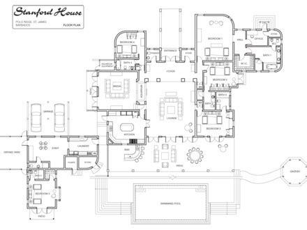 luxury custom home floor plans floor plans with bedrooms downstairs medium size bedroom