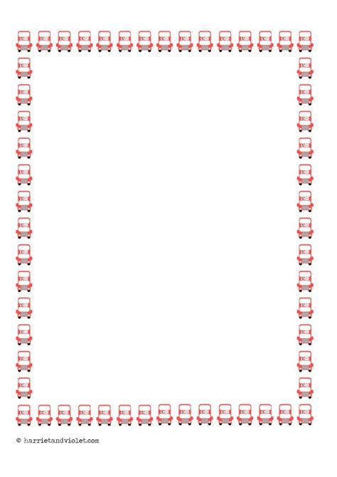 lined paper with plain border bus border paper portrait a4 plain half lined and lined