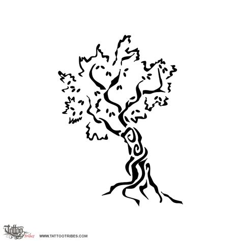 tattoo of olive tree immortality tattoo custom tattoo