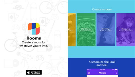 rooms app launches anonymous chat room app time