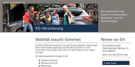Kfz Versicherung Vergleich Continentale by Continentale Kfz Versicherung Test Erfahrungen