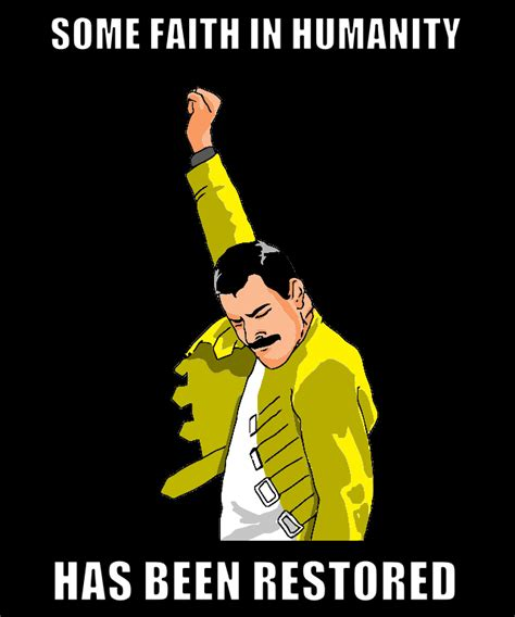 Freddie Mercury Meme - freddie faith colored freddie mercury rage pose know