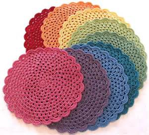 Round Table Placemats Crocheted Patterns Pinterest » Home Design 2017