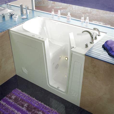 walk in jetted bathtub venzi 30x54 right drain white whirlpool jetted walk in