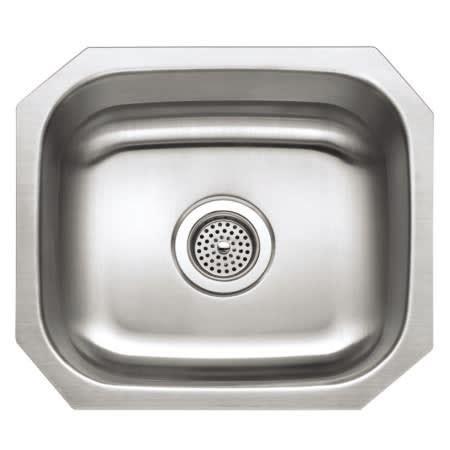 proflo stainless steel undermount sink proflo pfuc303 stainless steel 15 1 2 quot single basin