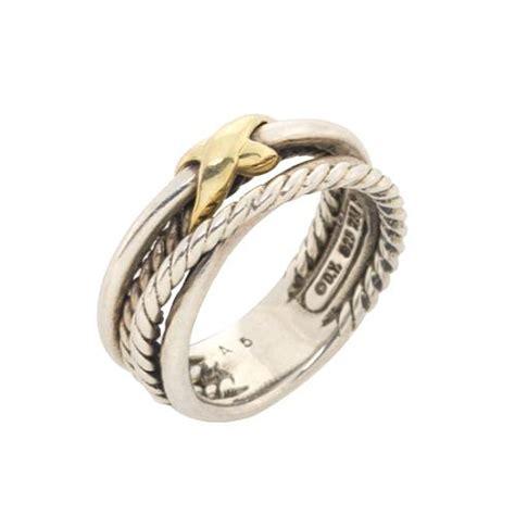 david yurman crossover x ring size 5