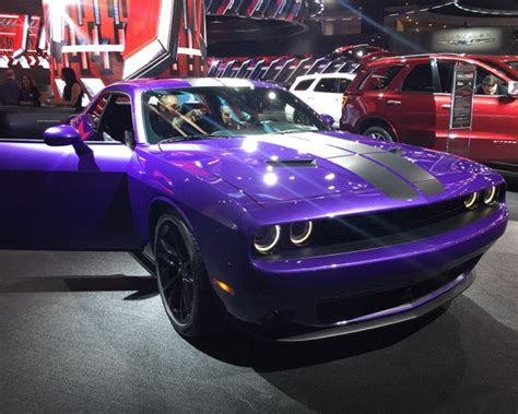 dodge to extend availability of plum paint 95 octane