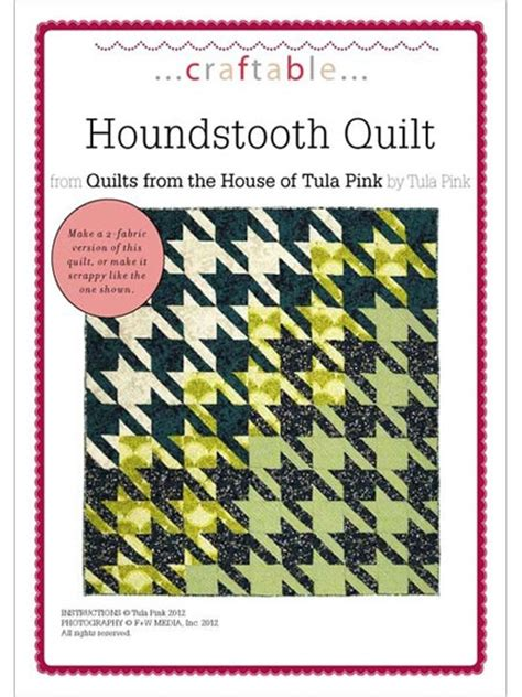 Tula Pink Houndstooth Quilt Pattern by 17 Best Images About Quilting Patterns On