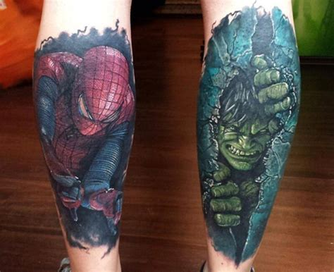 incredible hulk tattoos 17 b 228 sta id 233 er om p 229 hulken