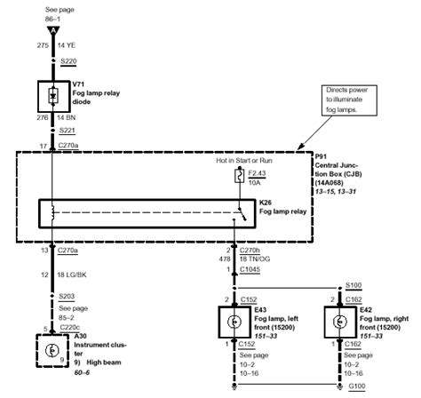 ford f350 fog light wiring diagram 34 wiring diagram