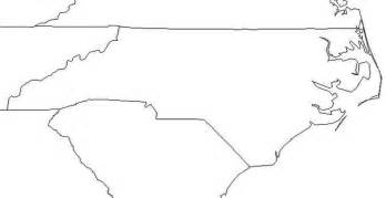outline map of carolina best photos of nc map outline carolina state