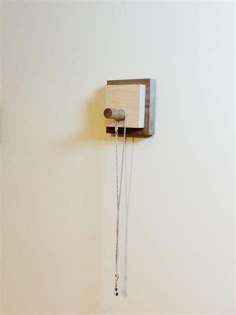 Rak Hanger modern wall hook or key hanger in reclaimed wood by mod rak midcentury hooks hangers