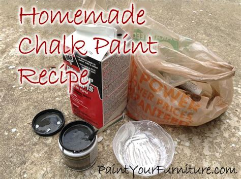 chalk paint diy recipe chalk paint recipe plaster of is 1