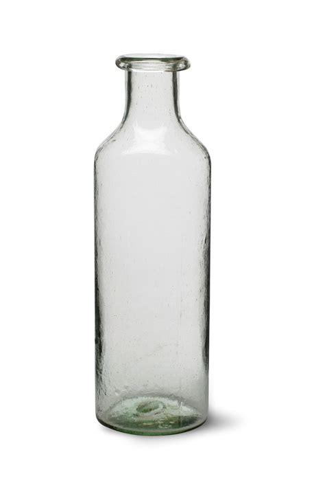 Glass Bulb Vase Recycled Glass Bottle Large Garden Trading