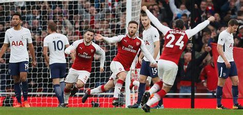 Arsenal Vs Tottenham | arsenal 2 0 tottenham ozil and sanchez come up trumps for