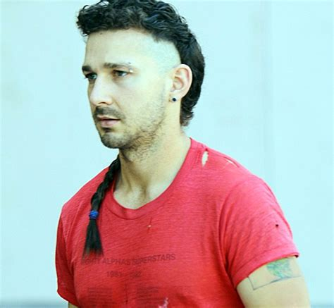 what does mohawk symbolize shia labeouf s latest haircut is actually a post