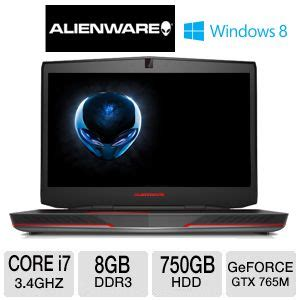 Laptop Alienware Alw17 6869slv alienware alw17 3744slv notebook pc 4th intel