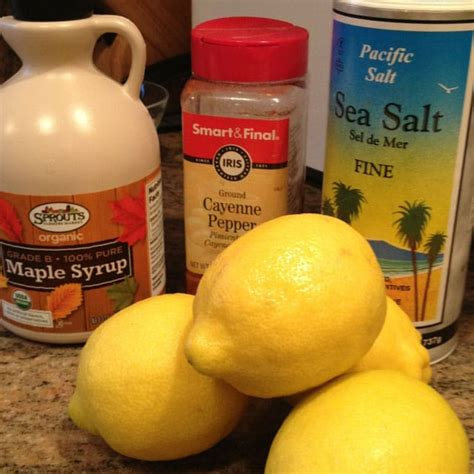 Master Detox Cleanse Ingredients by Master Cleanse Keviniscooking